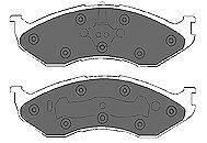MAPCO 6692 Комплект тормозных колодок, дисковый тормоз