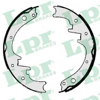LPR 06010 Комплект тормозных колодок