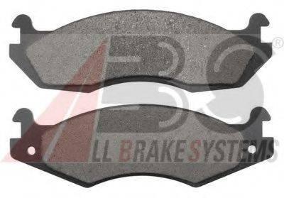 A.B.S. 38203 Комплект тормозных колодок, дисковый тормоз