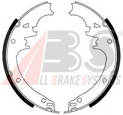 A.B.S. 40462 Комплект тормозных колодок