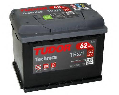TUDOR TB621 Стартерная аккумуляторная батарея; Стартерная аккумуляторная батарея