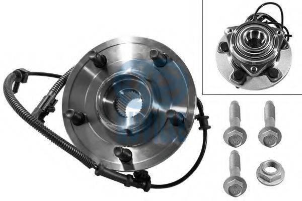 RUVILLE 8623 Комплект подшипника ступицы колеса