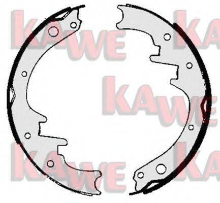 KAWE 06010 Комплект тормозных колодок