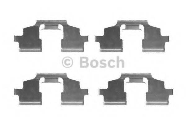BOSCH 1987474429 Комплектующие, колодки дискового тормоза