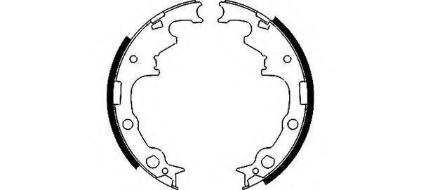 TEXTAR 91056500 Комплект тормозных колодок