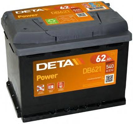 DETA DB621 Стартерная аккумуляторная батарея; Стартерная аккумуляторная батарея