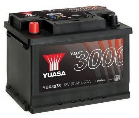 YUASA YBX3078 Стартерная аккумуляторная батарея