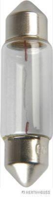 HERTH+BUSS ELPARTS 89901150 Лампа накаливания, фонарь освещения номерного знака; Лампа накаливания, oсвещение салона; Лампа накаливания; Лампа накаливания, стояночный / габаритный огонь; Лампа накаливания, фара заднего хода; Лампа накаливания, задний гарабитный огонь; Лампа накаливания, габаритный огонь